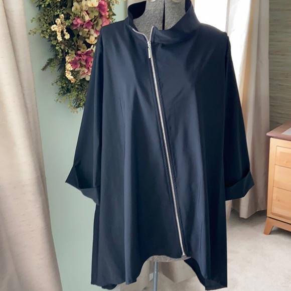 ComfyUSA Jason Tunic/Jacket with Angled Zip